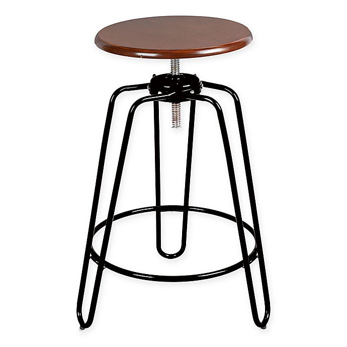 Hairpin Leg Adjustable Bar Stool Bed Bath Amp Beyond