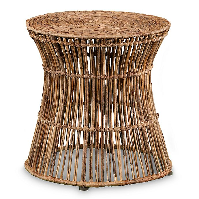 Alternate image 1 for Holy & Martin® Ocala Hyacinth Accent Drum Table/Stool