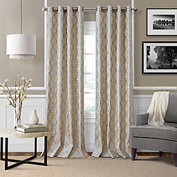 Curtain Panels Hanging Style Grommet Solid Or Pattern