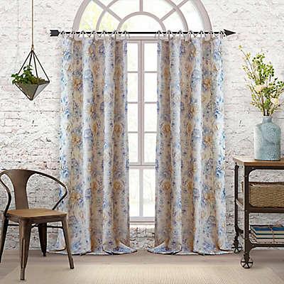 Elrene Annalise Tab Top Window Curtain Panel
