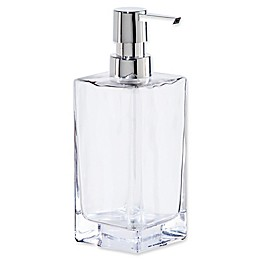 Oggi Tall Glass 13 oz. Soap Dispenser