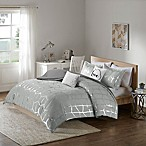 Intelligent Design Raina 5-Piece King/California King Comforter Set in Grey/Silver