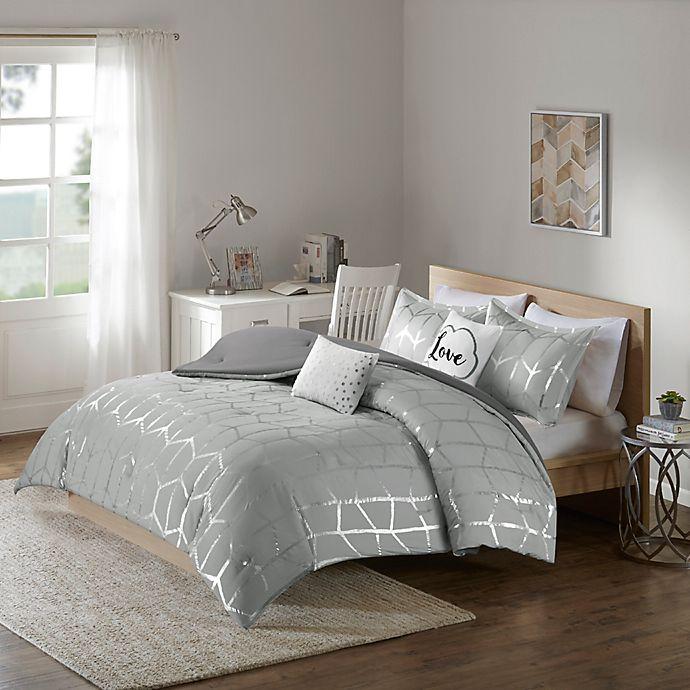 Alternate image 1 for Intelligent Design Raina 4-Piece Twin/Twin XL Comforter Set