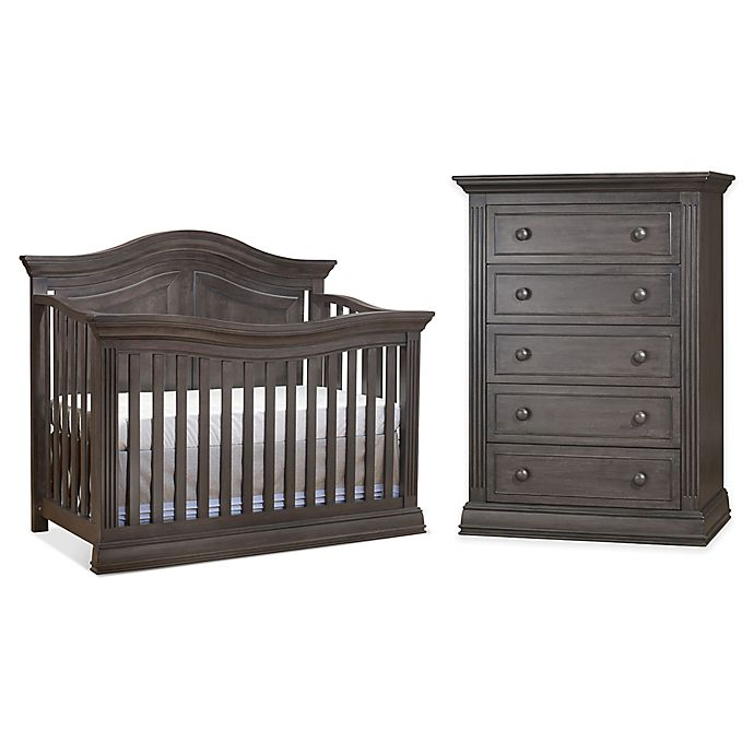 Sorelle Providence Nursery Furniture Collection In Vintage Grey