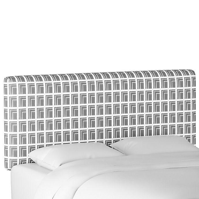 Alternate image 1 for Cloth & Company Upholstered Headboard in Architecture Grey