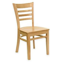 Flash Furniture Ladder Back Wood Chair