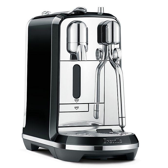Alternate image 1 for Nespresso® by Breville® Creatista Espresso Maker in Black
