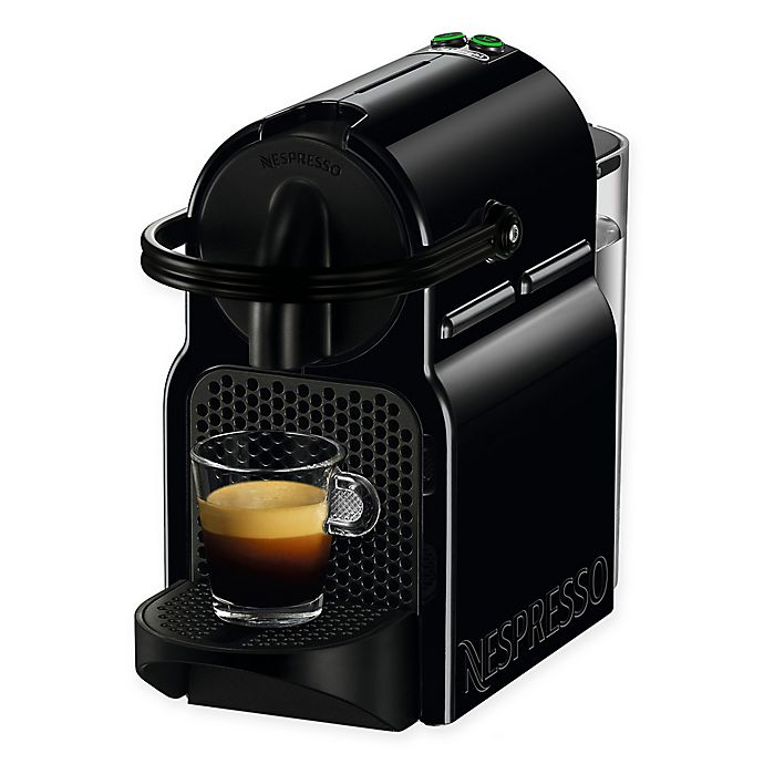 Alternate image 1 for Nespresso® by DeLonghi Inissia Espresso Machine in Black
