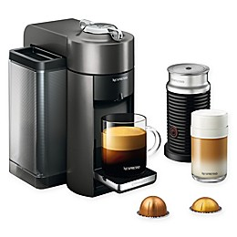 Nespresso® by De'Longhi® Vertuo Coffee/Espresso Machine with Aeroccino in Graphite