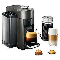 Nespresso® by De'Longhi® Vertuo Coffee/Espresso Machine with Aeroccino in Graphite