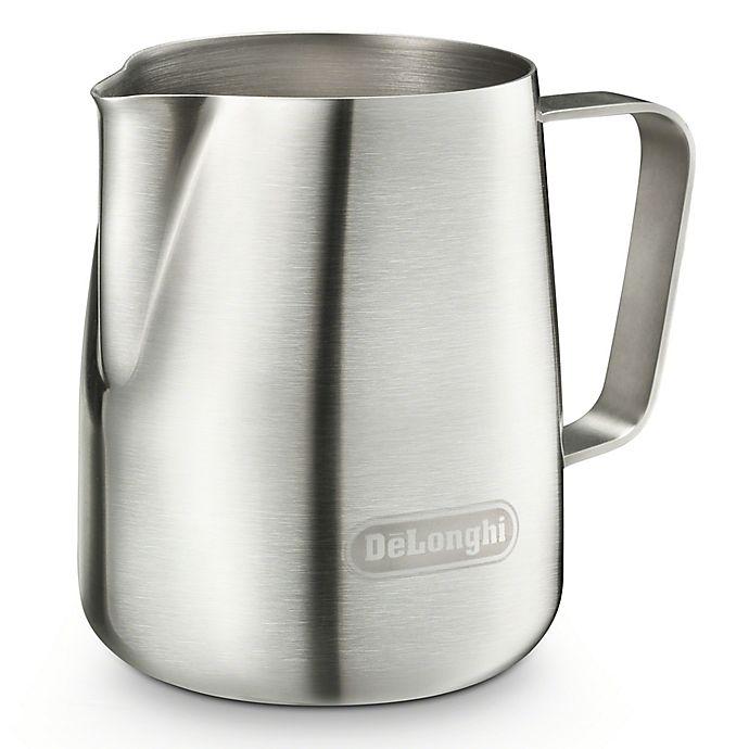 Alternate image 1 for De'Longhi® 14.5 oz. Milk Frothing Pitcher in Silver