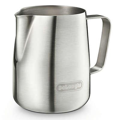 De'Longhi® 14.5 oz. Milk Frothing Pitcher in Silver