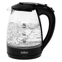 Salton 1.7-Liter Cordless Electric Glass Kettle