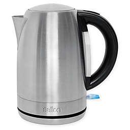 Salton 1.7-Liter Cordless Electric Stainless Steel Kettle