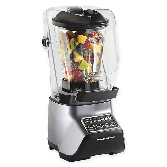 Alternate image 1 for Hamilton Beach® Sound Shield 950 Quiet Blender in Grey