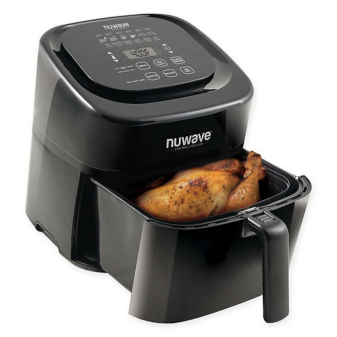 Alternate image 1 for NuWave® 6 qt. Airfryer in Black