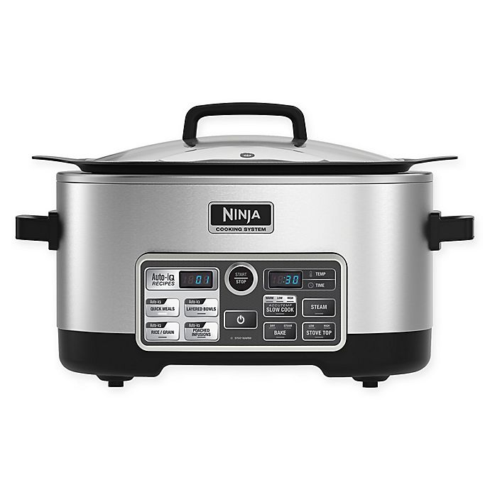 Alternate image 1 for Ninja® Cooking System with Auto-iQTM CS960