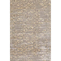 Feizy Chantal Scroll Rug in Graphite