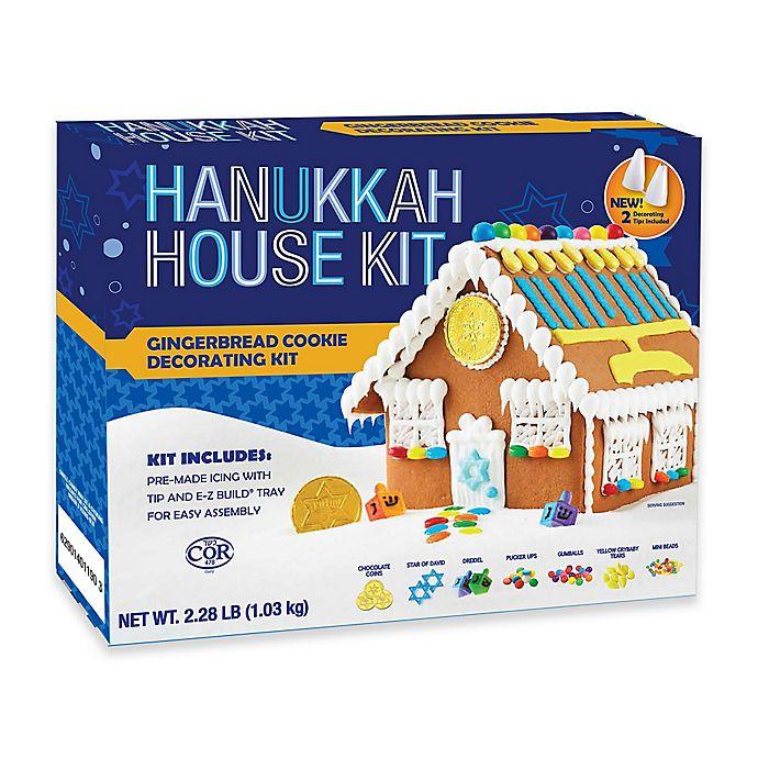 Alternate image 1 for Hanukkah Gingerbread House Kit