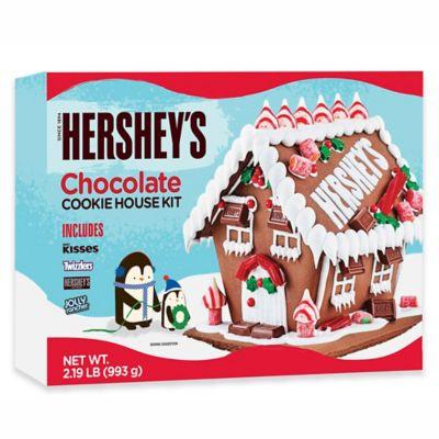 Christmas Gingerbread House Kit.Hershey Chocolate Cookie House Kit