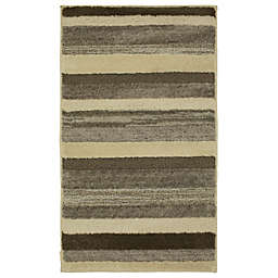 Mohawk Home® Farmhouse Mirage 2-Foot 5-Inch x 3-Foot 8-Inch Washable Accent Rug Sand/Praline