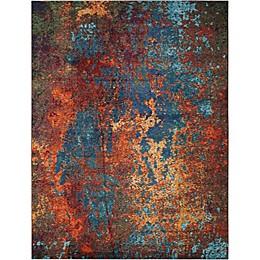 Nourison Celestial Atlantic Multicolor Area Rug