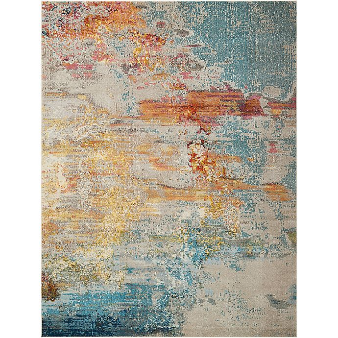 Nourison Celestial Area Rug In Sealife Bed Bath Beyond