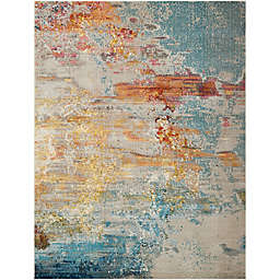 Nourison Celestial Area Rug in Sealife