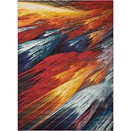 Nourison Celestial Burst Multicolored Area Rug