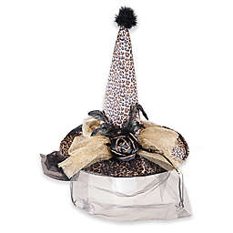 Gallerie Ii Novelty Golden Leopard Witch Hat