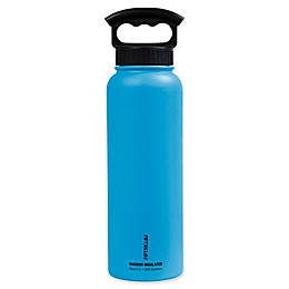 FIFTY/FIFTY Double-Wall Vacuum Insulated 40 oz. Water Bottle with Finger Grip Lid