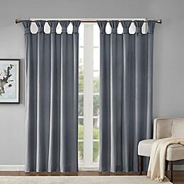 Madison Park Sonnet Velvet Twist Tab Room Darkening Window Curtain Panel