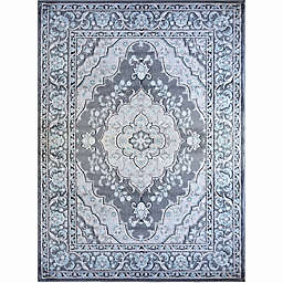 Home Dynamix Oxford 9-Foot 2-Inch x 12-Foot 5-Inch Area Rug in Grey