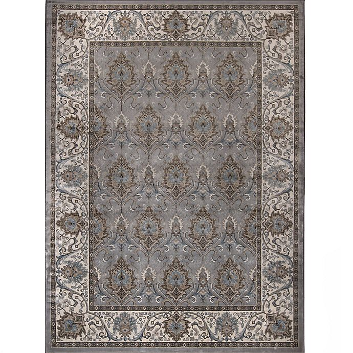 Alternate image 1 for Verona Traditional Border Rug in Grey