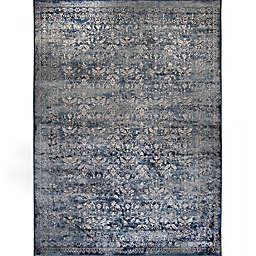 Verona Vintage 3-Foot 3-Inch x 4-Foot 7-Inch Accent Rug in Blue
