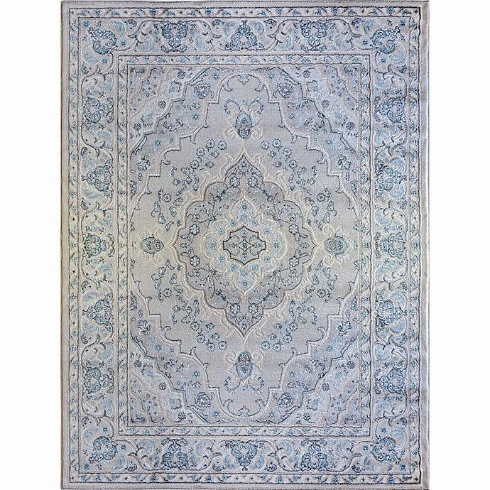 Alternate image 1 for Home Dynamix Oxford Border Area Rug in Cream