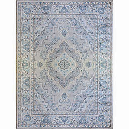 Home Dynamix Oxford Border Area Rug in Cream