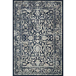 Magnolia Home by Joanna Gaines Everly 2-Foot 7-Inch x 8-Foot Runner in Indigo
