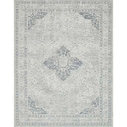 Magnolia Home by Joanna Gaines Tristin Medallion Rug in Ivory
