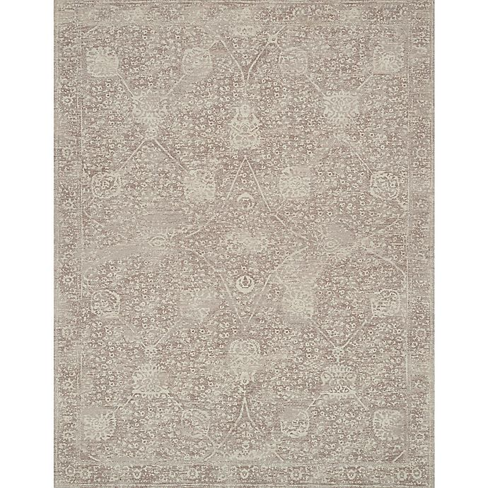 Magnolia Home By Joanna Gaines Tristin Rug In Taupe Bed