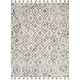 Magnolia Home by Joanna Gaines Teresa Rug in Ivory/Silver