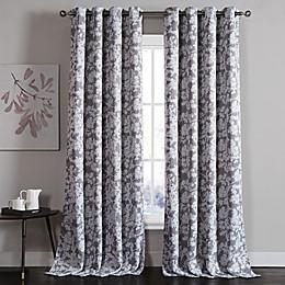 Kensie Ainna 84-Inch Rod Pocket Window Curtain Panel Pair