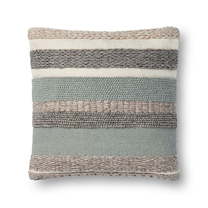 Magnolia Home By Joanna Gaines Delphine Square Throw Pillow In Sage