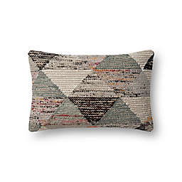 Magnolia Home by Joanna Gaines Trinity Oblong Throw Pillow in Grey