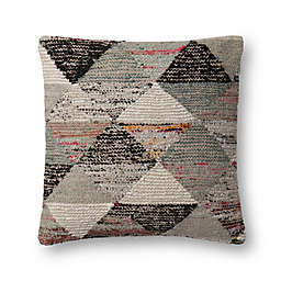 Magnolia Home Trinity 22-Inch Square Throw Pillow in Grey