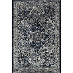 Magnolia Home Everly by Joanna Gaines 5-Foot 3-Inch x 7-Foot 8-Inch Area Rug in Grey/Midnight