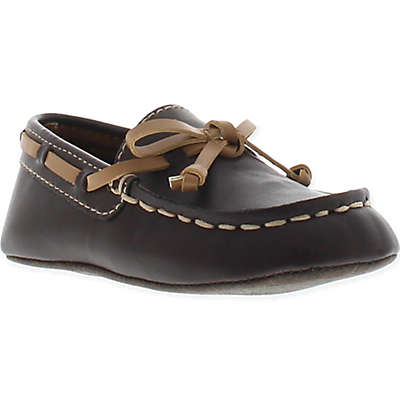 Kenneth Cole Flexy Moccasin Boat Shoe in Brown