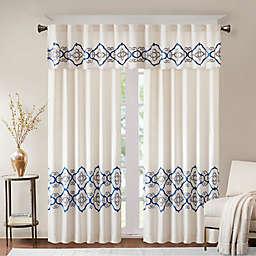 Bombay Akemi Rod Pocket/Back Tab Room Darkening Window Curtain Panel and Valance