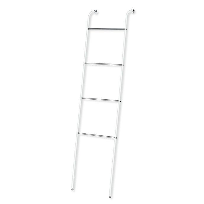 Bathroom Towel Ladder South Africa: Taymor® Towel Ladder In White/Chrome