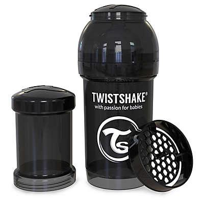 Twistshake Plastic Anti-Colic Baby Bottle in Black